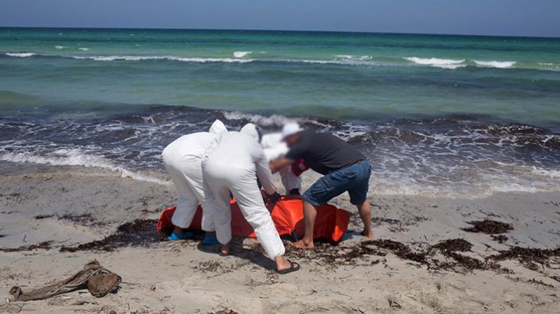 إنتشال جثتين في سواحل سوسة