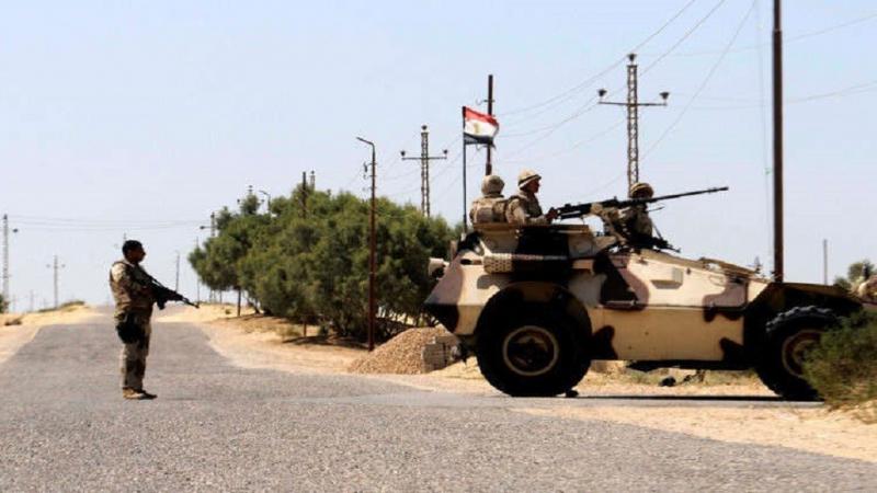 مصر:مقتل 7 رجال شرطة في هجوم إرهابي شمال سيناء