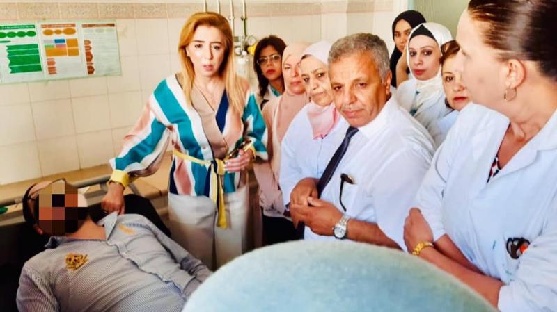 الاعتداء بسكين على عوني صحة: الوزيرة تتحول إلى مستشفى محمود الماطري