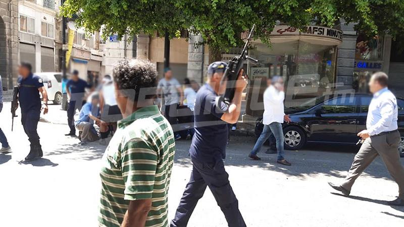الداخلية: إصابة عوني أمن ومدنيين في هجوم شارل ديقول