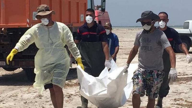 جرجيس: ارتفاع عدد ضحايا غرق مركب مهاجرين إلى 58
