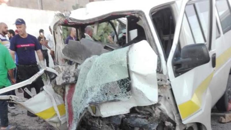 القيروان: إصطدام عنيف بين ''لواج'' وشاحنة يسفر عن 3 قتلى
