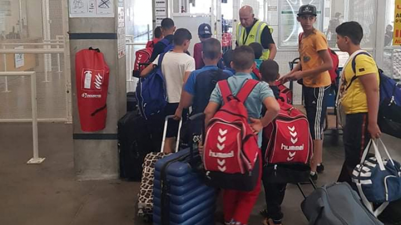 أطفال تطاوين يغادرون مرسيليا باتّجاه تونس