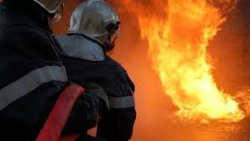 سيدي بوزيد: حريق بمحل لبيع المحروقات