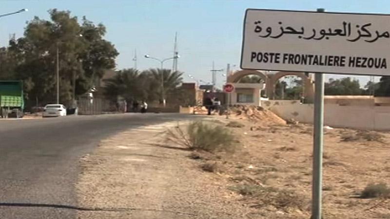 مقتل شخص اقتحم المركز الحدودي في حزوة بجرافة