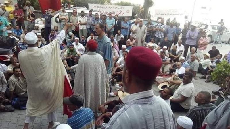 العطوي:تسجيل تقدّم في ملف إعتصام الإطارات المسجدية