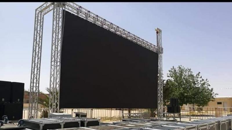 الجزائر: شاشات عملاقة لمتابعة النهائي