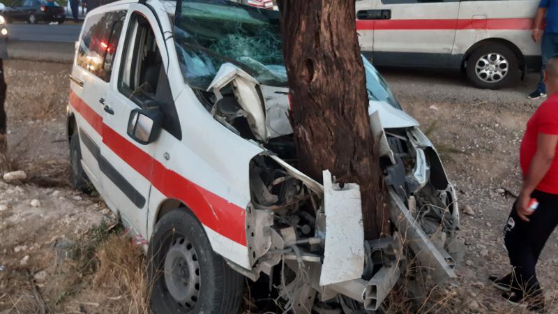القصرين: الإسراف في السرعة تفقد سائق لواج السيطرة على سيارته