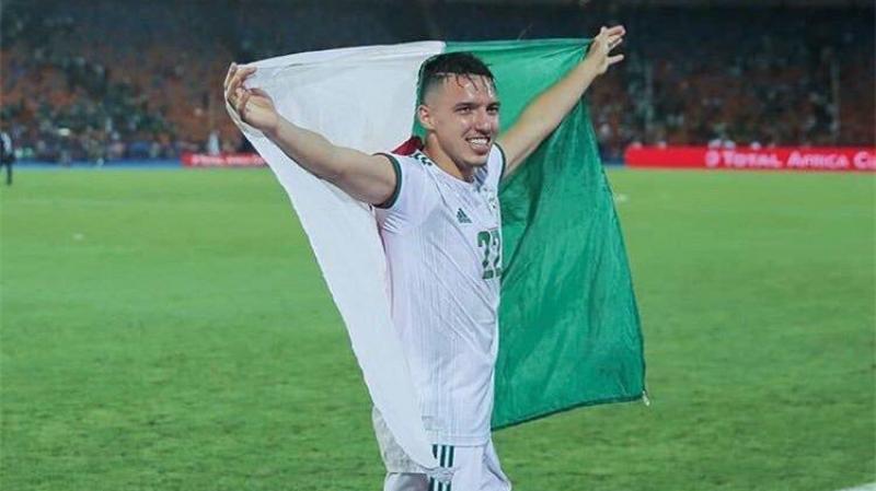 الجزائري إسماعيل بن ناصر أفضل لاعب في أمم أفريقيا