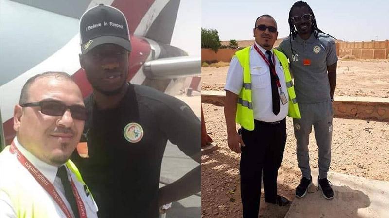 طائرة المنتخب السنغالي تحط في الجزائر