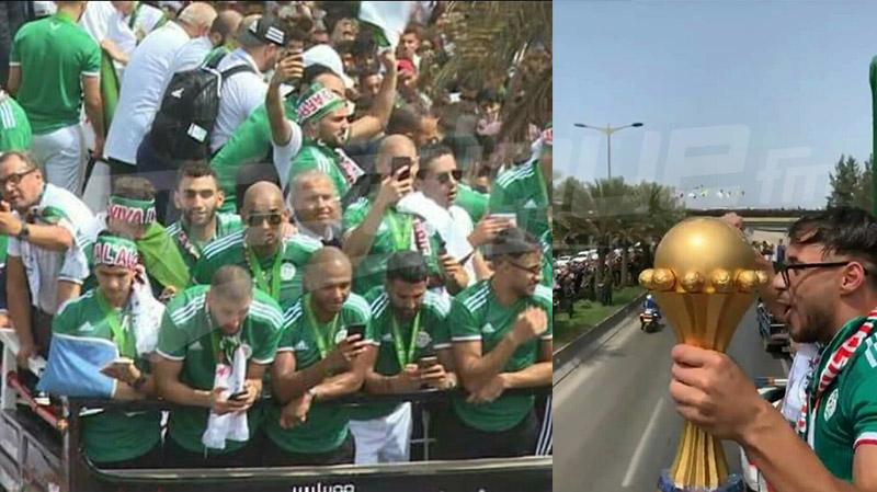 الجزائر تستقبل أبطالها