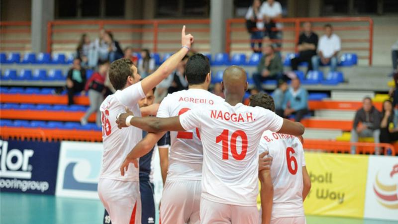 كأس إفريقيا للكرة الطائرة: تونس مع الجزائر في المجموعة الأولى