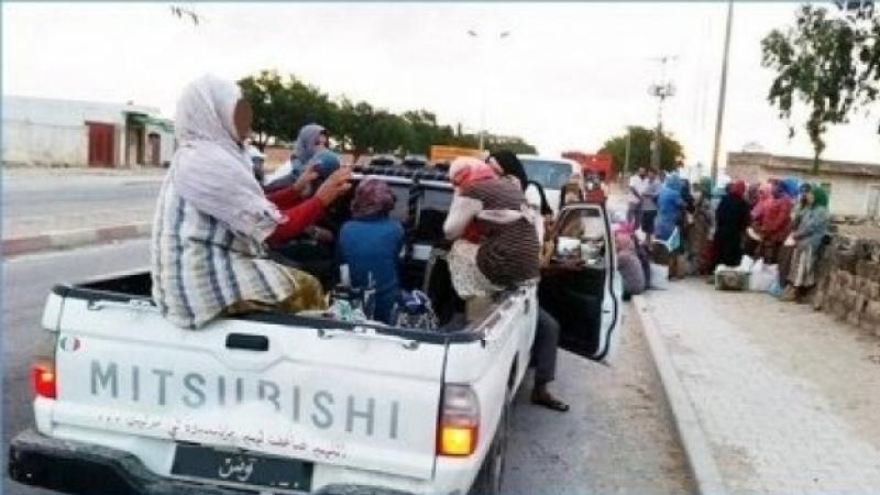 12 جريحا في اصطدام سيارة تهريب بأخرى تقل عمالا فلاحيين في سيدي بوزيد