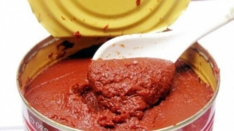 أكثر من 40 ألف علبة طماطم منتهية الصلوحية في مصنع بنابل