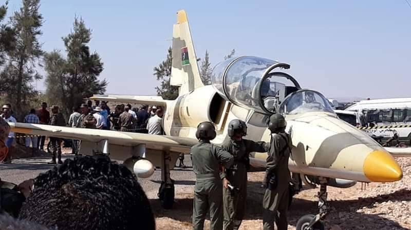 الزبيدي: الطيار الليبي نزل بتونس هربا من النزاع