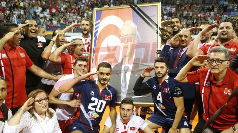 الكرة الطائرة: تونس تحافظ على لقبها وتحرزالتاج العاشر