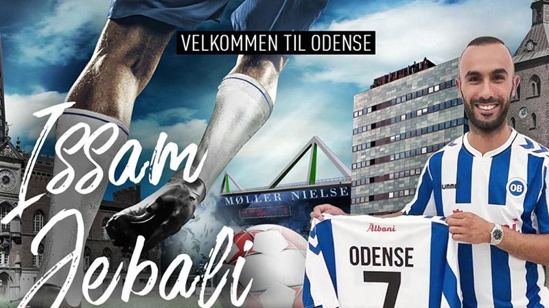 عصام الجبالي في البطولة الدنماركية