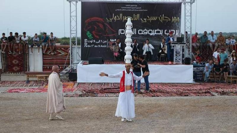 إفتتاح النسخة الدولية الأولى لمهرجان سيدي الناصر بالسواسي