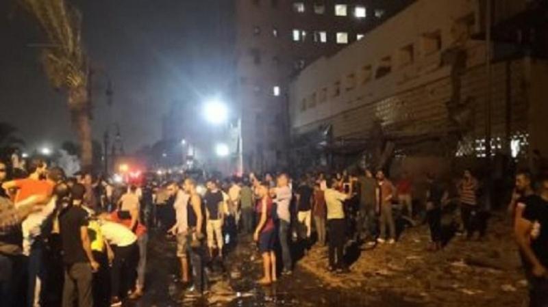 انفجار القاهرة يُحوّل 'زفة عروسين' إلى مأساة !
