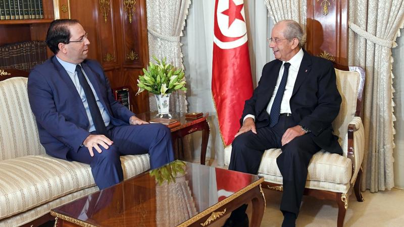 في لقاء جمعه بالشاهد: الناصر يؤكّد على ضرورة تكافؤ الفرص بين المترشحين