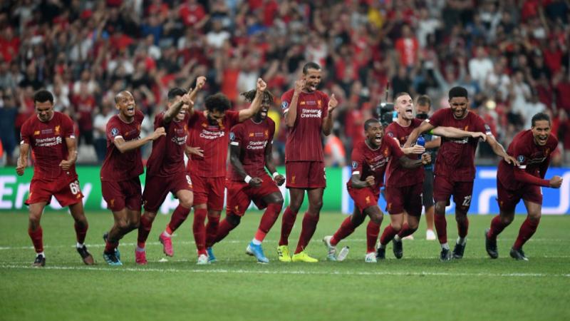 ليفربول يهزم تشيلسي بركلات الترجيح ويتوج بكأس السوبر الأوروبية