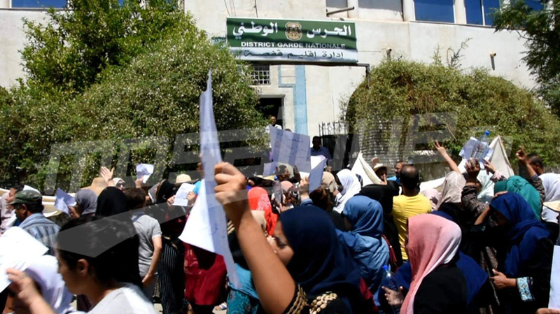 قتل وسحل لربّ عائلة في قفصة: مسيرة للأهالي تنديدا بالجريمة
