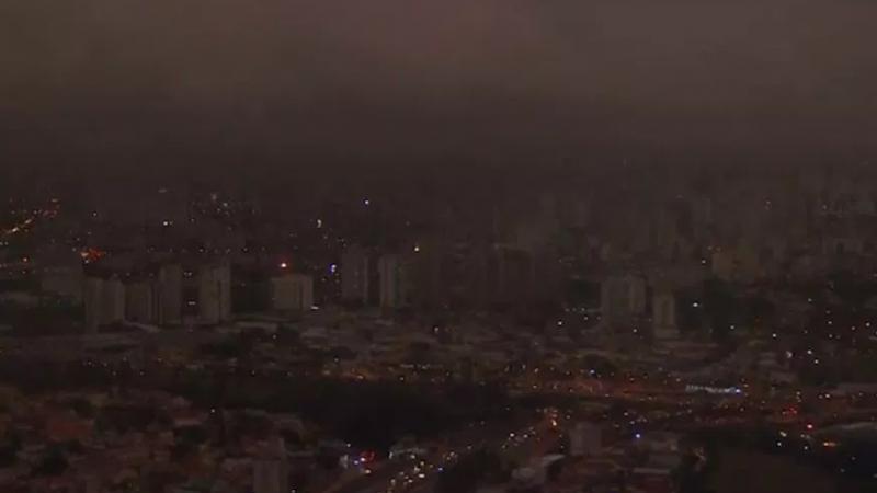 الحرائق تُغرق ''ساو باولو'' في ''ظلام ساخن''