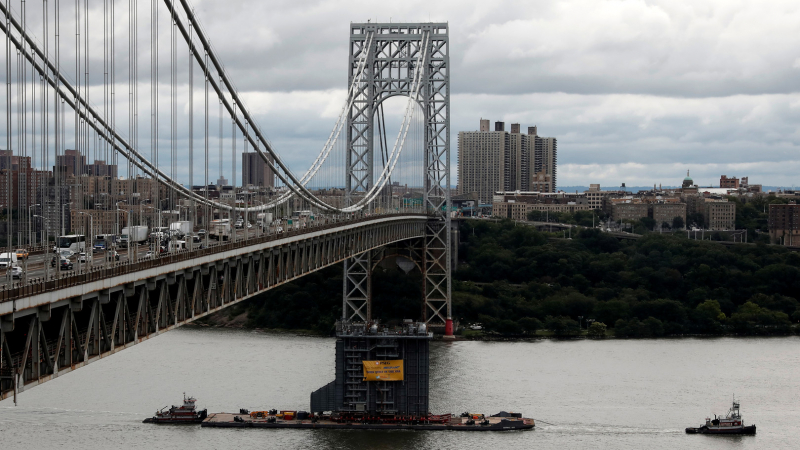 قنبلة في جسر جورج واشنطن؟