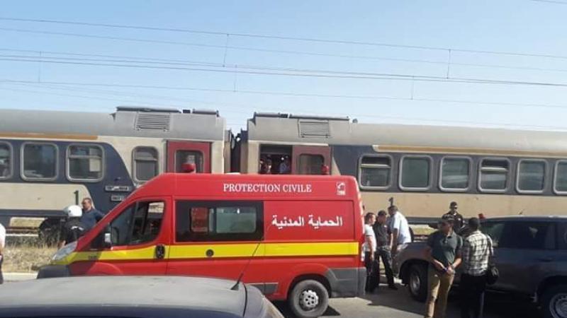 عون أمن يتنقل لمعاينة حادث قطار..فيجد الضحية زوجته