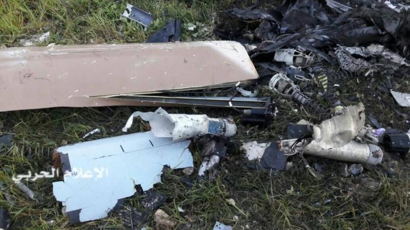 سقوط طائرتي ''درون'' لجيش الاحتلال الاسرائيلي في بيروت