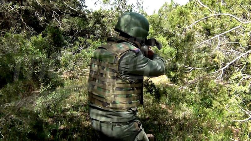 حيدرة: استشهاد رئيس مركز الحرس والقضاء على ثلاثة إرهابيين