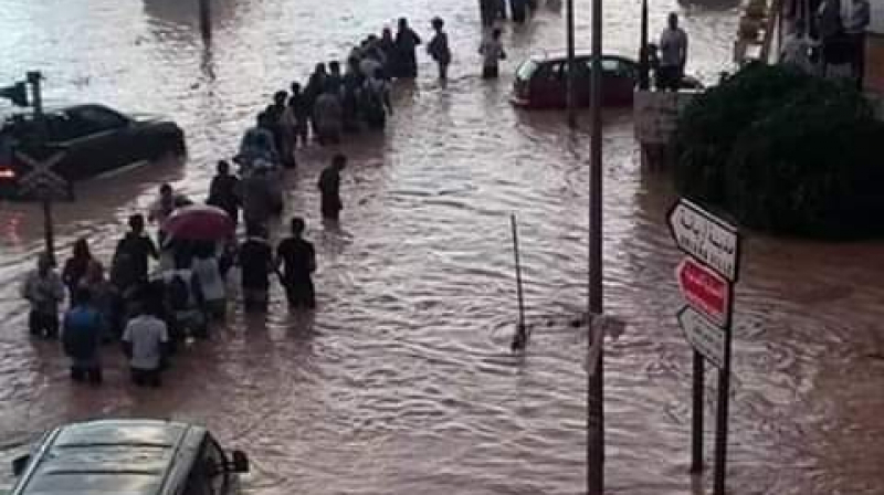 تسجيل أعلى كمية من الأمطار في أريانة