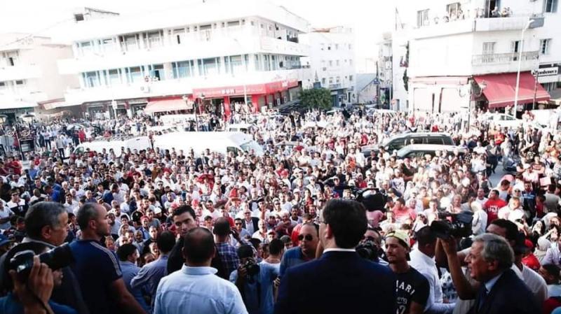 حملة يوسف الشاهد تندد بالعنف وتتهم حمة الهمامي ولوبيات فساد