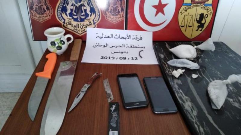 العاصمة : القبض على شخص وحجز 170 غراما من مخدر الكوكايين
