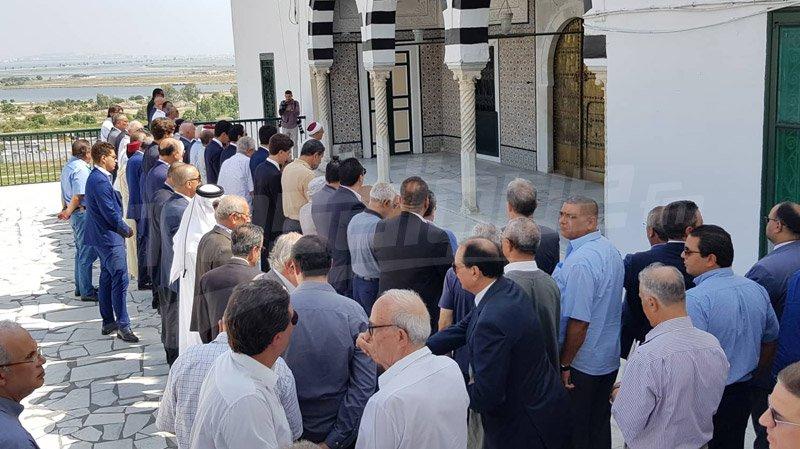 جثمان شادلية قائد السبسي يوارى الثرى في مقبرة الجلاز