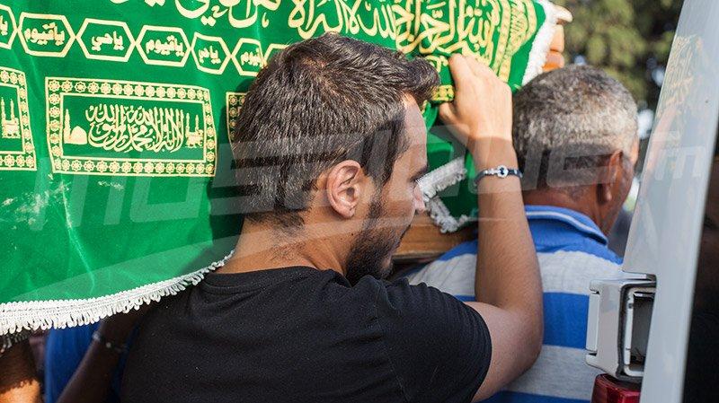 جثمان الفنانة منيرة حمدي يُوارى الثرى