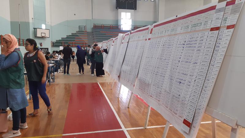 النتائج الأولي في الإنتخابات الرئاسية بدائرة نابل 2