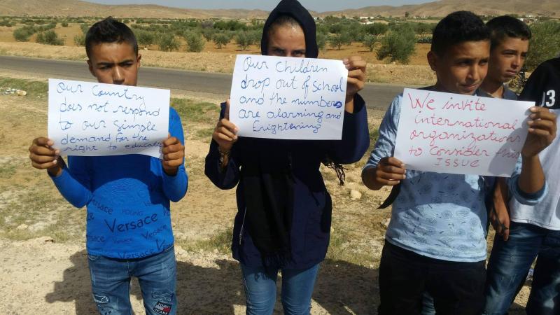 القصرين: 100 تلميذ في منطقة جبلية يقاطعون العودة المدرسية