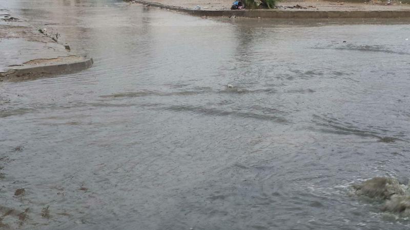 الأمطار تحرم التلاميذ من العودة المدرسية في بنزرت