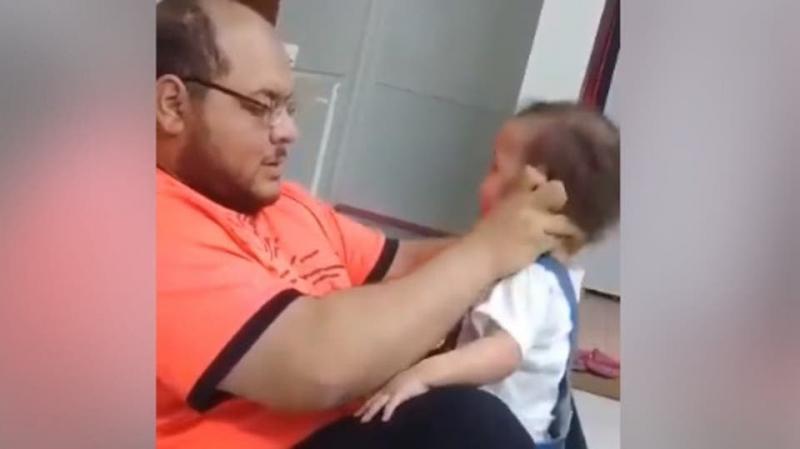 نجوم يتفاعلون مع فيديو تعذيب رضيعة على يد والدها