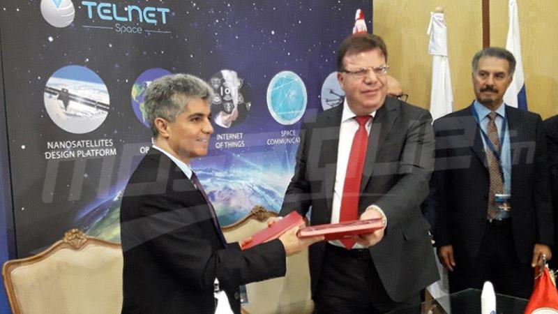 تونس تطلق أول قمر إصطناعي مصنّع محليا