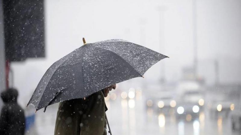 الأمطار متواصلة يوم الإربعاء