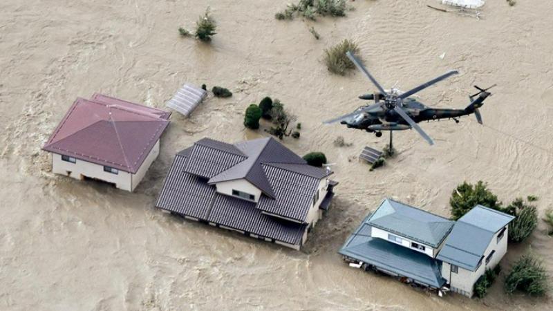 قتلى ومفقودون في إعصار 'هاغيبيس' باليابان