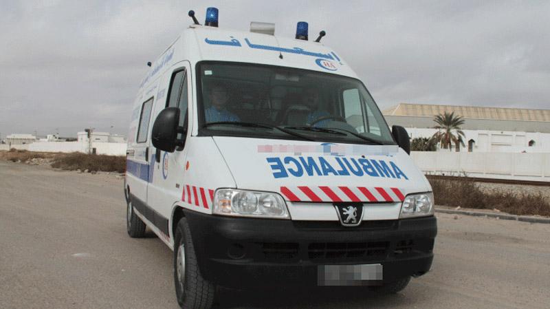 قفصة: سيارة إسعاف تتعرّض إلى 'براكاج'