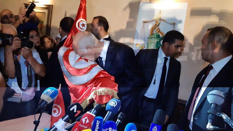 قيس سعيد: رفعتم شعار الشعب يريد..وها أنتم تحققون ما تريدون
