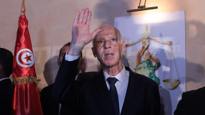 الأحزاب الجزائرية تهنئ تونس وسعيد