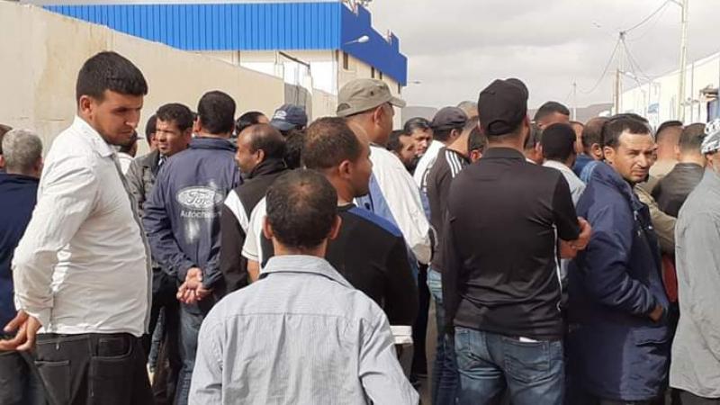 تطاوين: إعادة غلق مقر شركة البيئة بسبب احتجاجات الأعوان