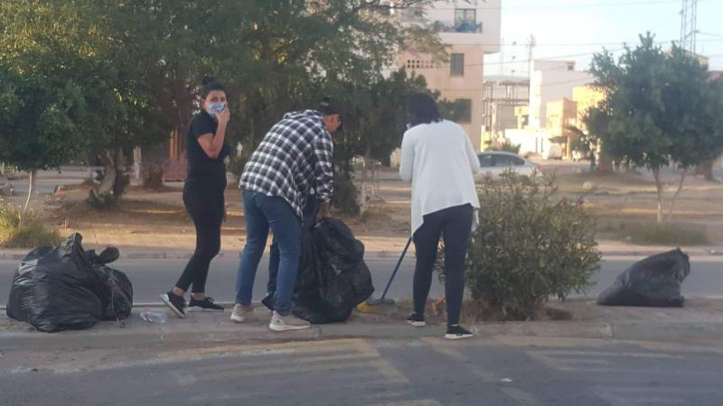 حملات نظافة واسعة في القصرين