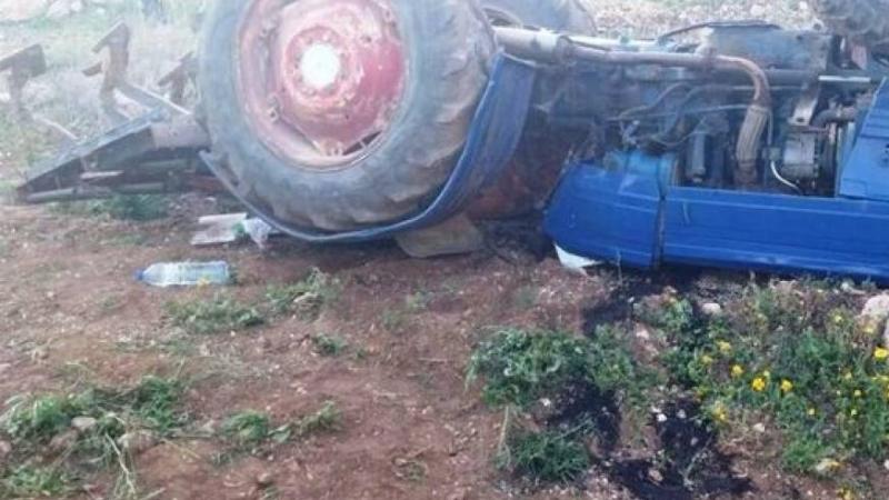 سيدي بوزيد: وفاة شاب وإصابة والده في إصطدام شاحنة خفيفة بجرار