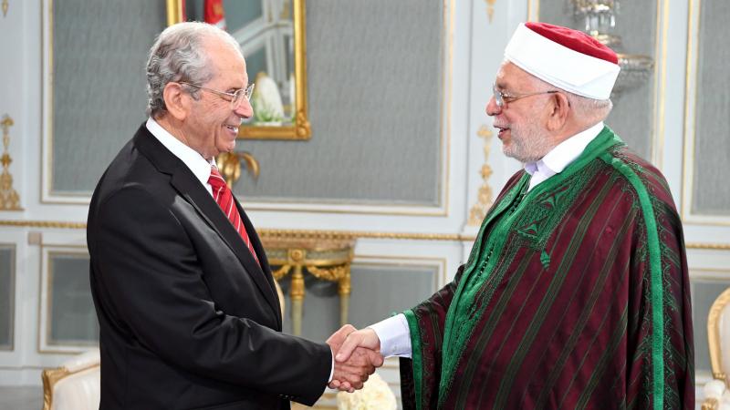 الناصر يلتقي مورو حول ترتيبات أداء رئيس الجمهورية المنتخب اليمين